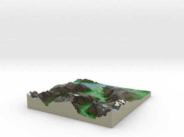 Terrafab generated model Fri Sep 27 2013 18:14:36 3d printed
