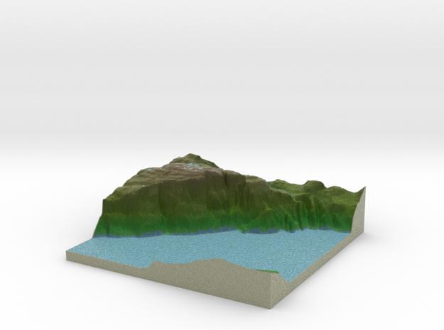 Terrafab generated model Sat Sep 28 2013 01:34:43 3d printed