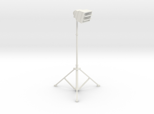 1/10 Scale Tall Work Light 2 in White Natural Versatile Plastic