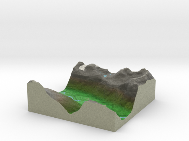 Terrafab generated model Sat Sep 28 2013 16:22:52 3d printed