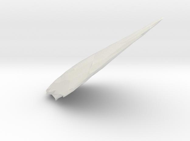 2727 in White Natural Versatile Plastic