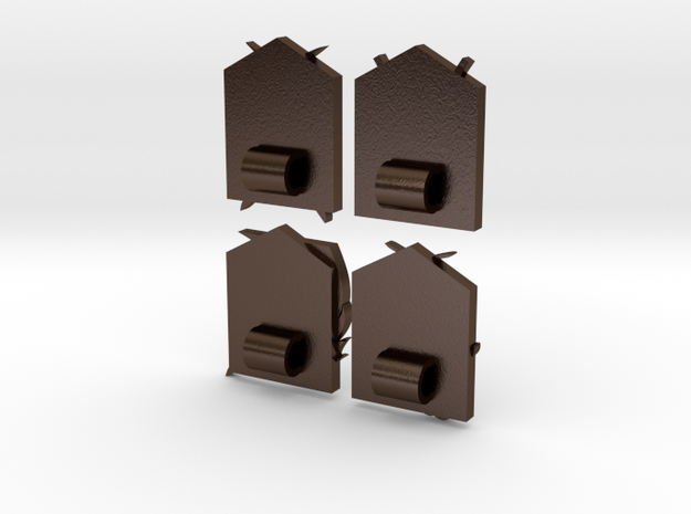Attack On Titan Emblems - Set Of 4 3d printed