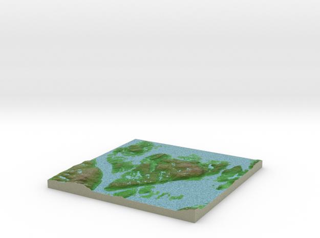 Terrafab generated model Mon Sep 30 2013 19:51:28 3d printed