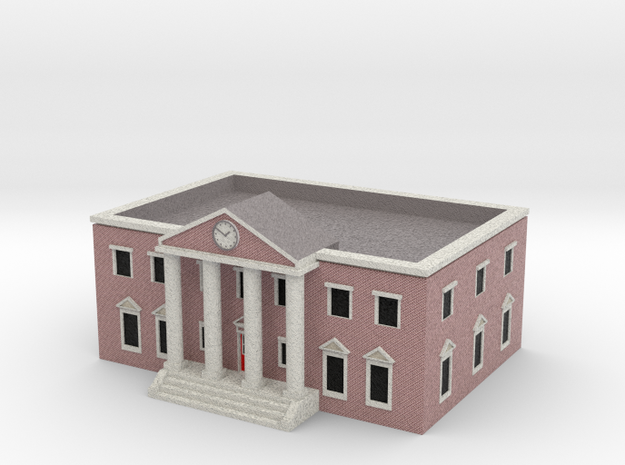 County Courthouse - Zscale in Full Color Sandstone