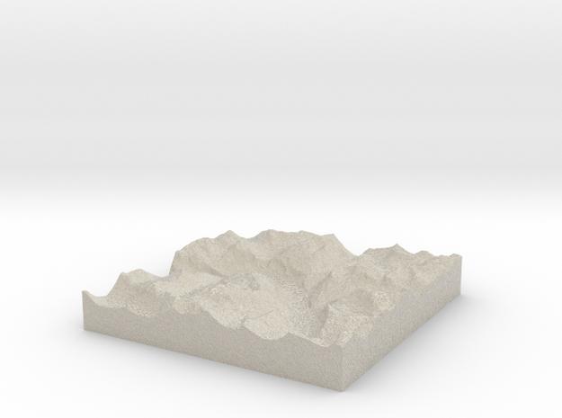 Terrafab generated model Tue Oct 01 2013 10:26:47  3d printed