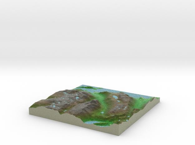 Terrafab generated model Fri Oct 04 2013 09:14:20  in Full Color Sandstone