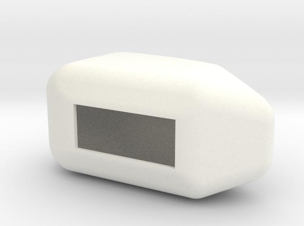 BK 117 Winch Hood 1:6 Scale in White Processed Versatile Plastic