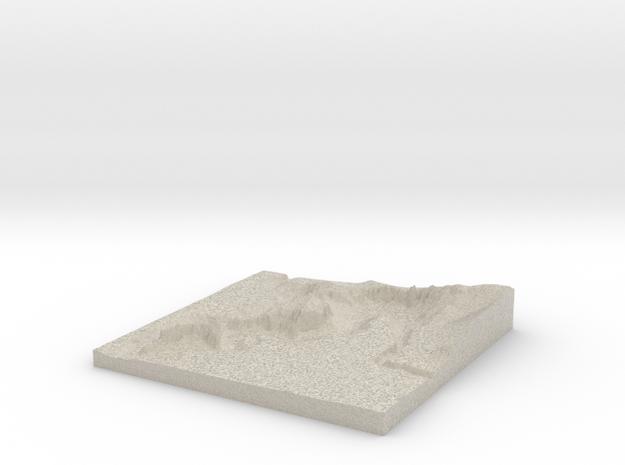 Model of Terrebonne 3d printed