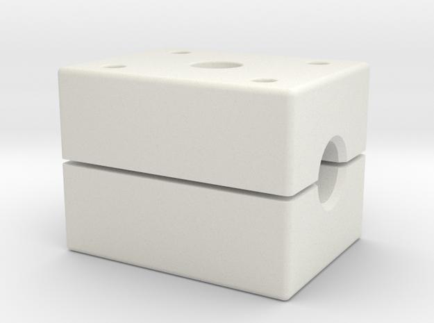 Handrail Jig in White Natural Versatile Plastic