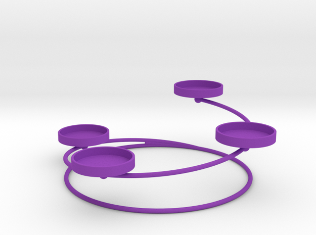 Advent Wreath Candle Holder 1.0 3d printed