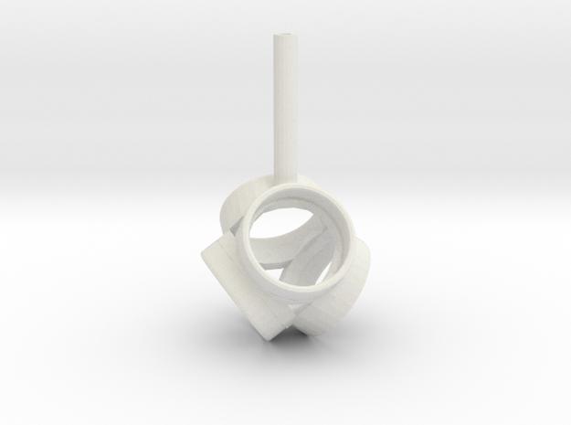 Brahma2 - 25  Tetra in White Natural Versatile Plastic