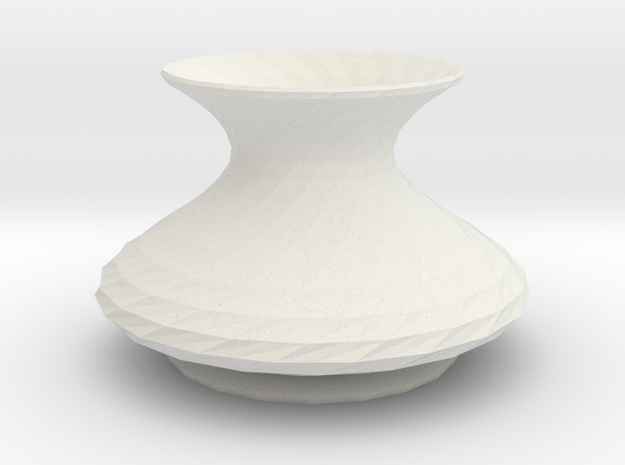 elisian vase in White Natural Versatile Plastic
