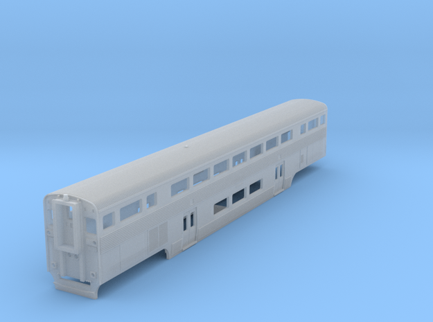California Car Cab Coach - Z Scale in Smooth Fine Detail Plastic