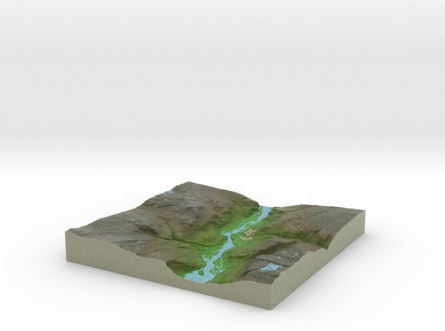 Terrafab generated model Tue Oct 15 2013 23:49:22 3d printed