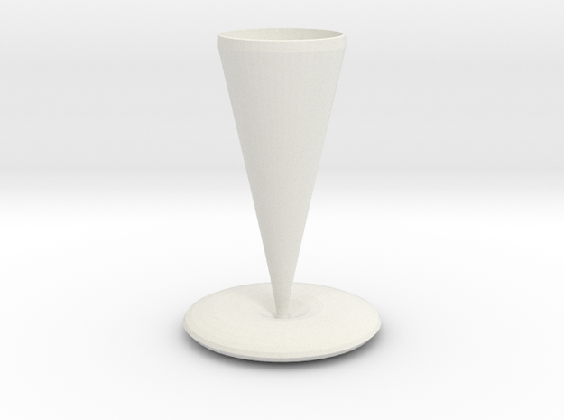 holmes vase  in White Natural Versatile Plastic