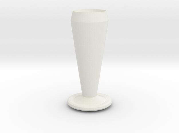 batman vase in White Natural Versatile Plastic