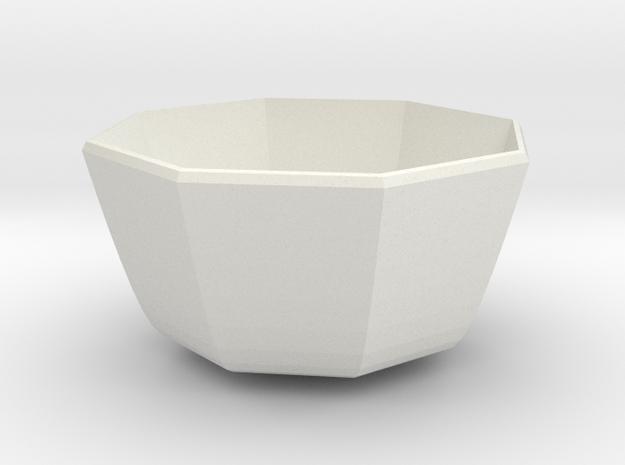 medium bowl in White Strong & Flexible