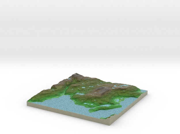 Terrafab generated model Thu Oct 17 2013 19:54:48 3d printed