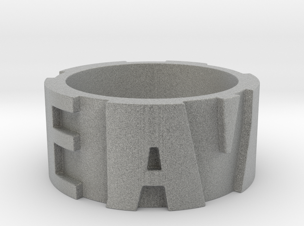 DEADALIVE Ring Size 12 3d printed