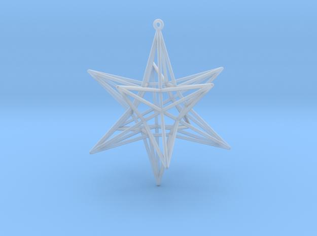 Dodecahedronstar 3d printed