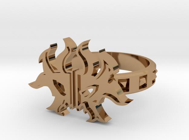 Magic: The Gathering Rakdos Ring(US Size11) 3d printed