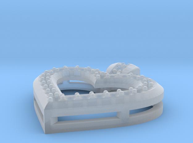 Heart Pendant P2 3d printed
