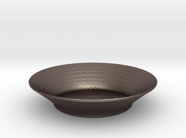 nero salad bowl 2 3d printed