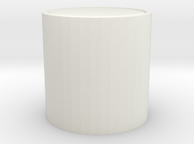 modern foot stool in White Natural Versatile Plastic