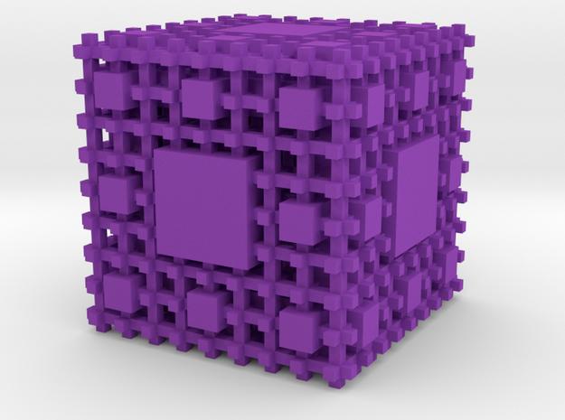 Menger Sponge Negative 3d printed