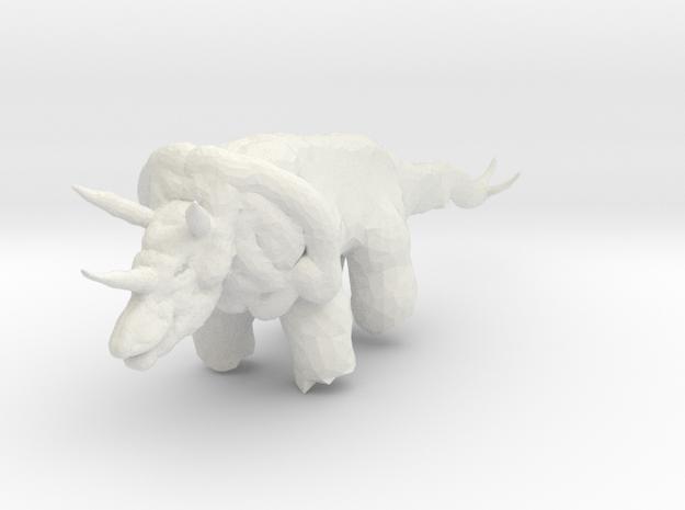 triceratops_01 3d printed