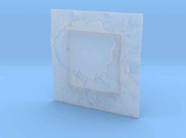 4'' Crater Lake, Oregon, USA 3d printed