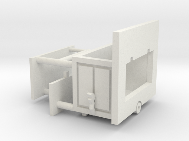 kleine Bude 1:220 (z scale) in White Strong & Flexible