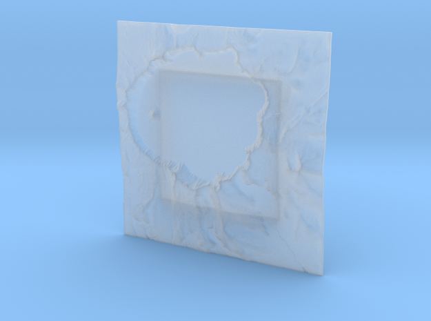 3'' Crater Lake, Oregon, USA 3d printed