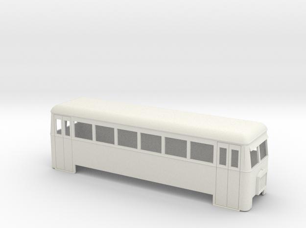 1:32/1:35 railbus bogie double end  in White Strong & Flexible