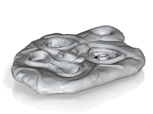 Tiki Pendant 4 3d printed