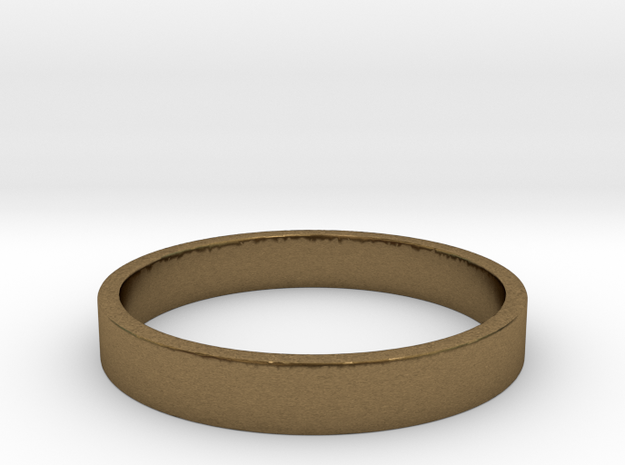 simple ring Ring Size 7 3d printed