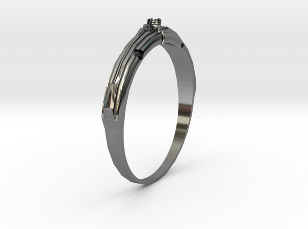 Castle Ring 3d printed