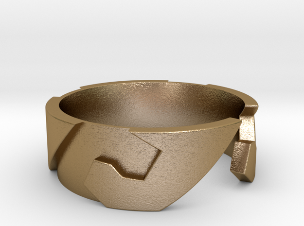 Surf / Wave Ring 3d printed