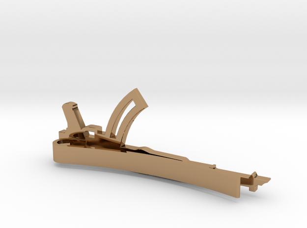 AK-47 MONEY/TIE CLIP 3d printed