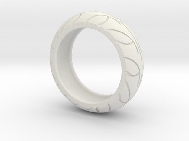 Street Bike Tread Ring Size 12 3d printed