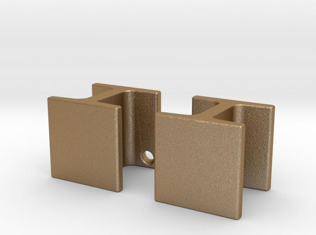 mini h-beam earrings 3d printed