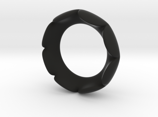 Flower Ring - Size 5 3d printed