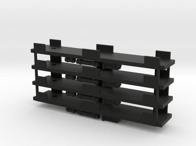 CNSM - 4 MD Underframes in Black Natural Versatile Plastic