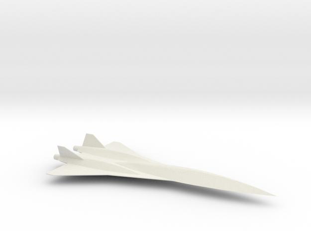 1/144 LOCKHEED SR-75 in White Natural Versatile Plastic