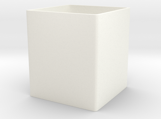 Optional inner pot for Mini cubed (floral patterne 3d printed