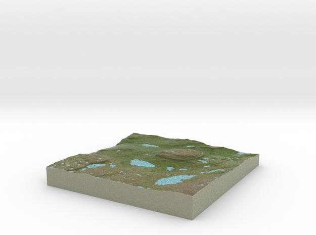 Terrafab generated model Sat Oct 26 2013 10:03:38 3d printed