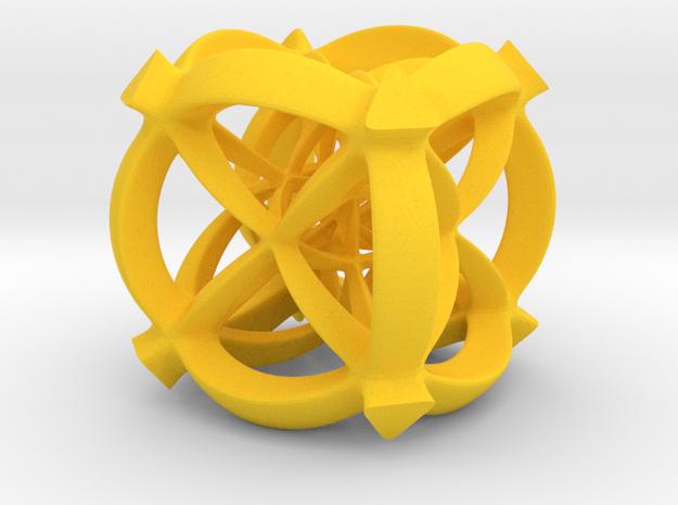 Octaplex II, large  3d printed