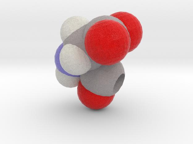 D is Aspartic Acid in Full Color Sandstone
