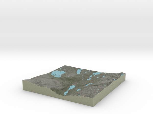 Terrafab generated model Thu Oct 31 2013 22:59:38 3d printed