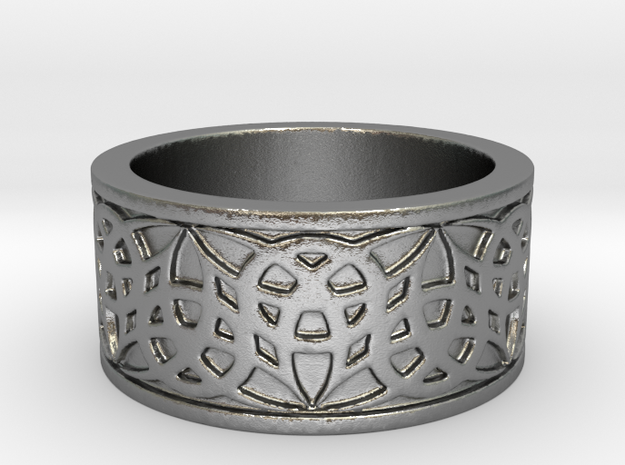 """Eternal Triquetra"" Ring Size 9 3d printed"
